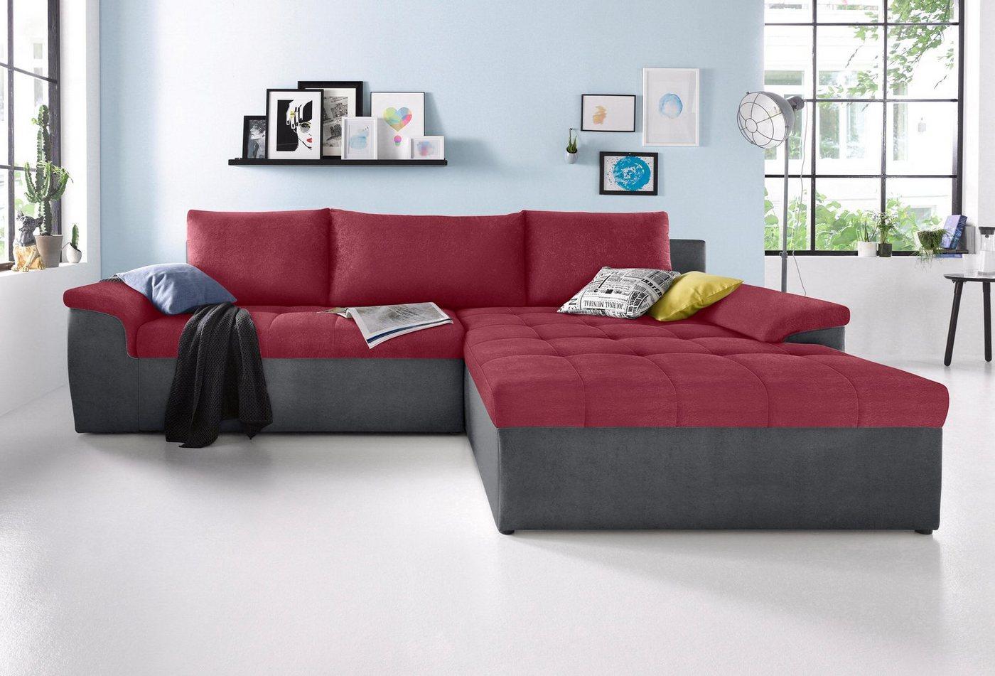 Sit & More hoekbank XXL, naar keuze met slaapfunctie