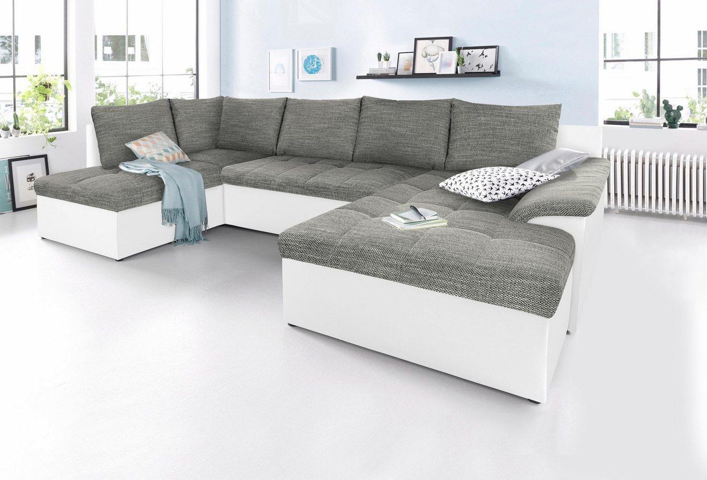 Sit & More zithoek XL, naar keuze met slaapfunctie
