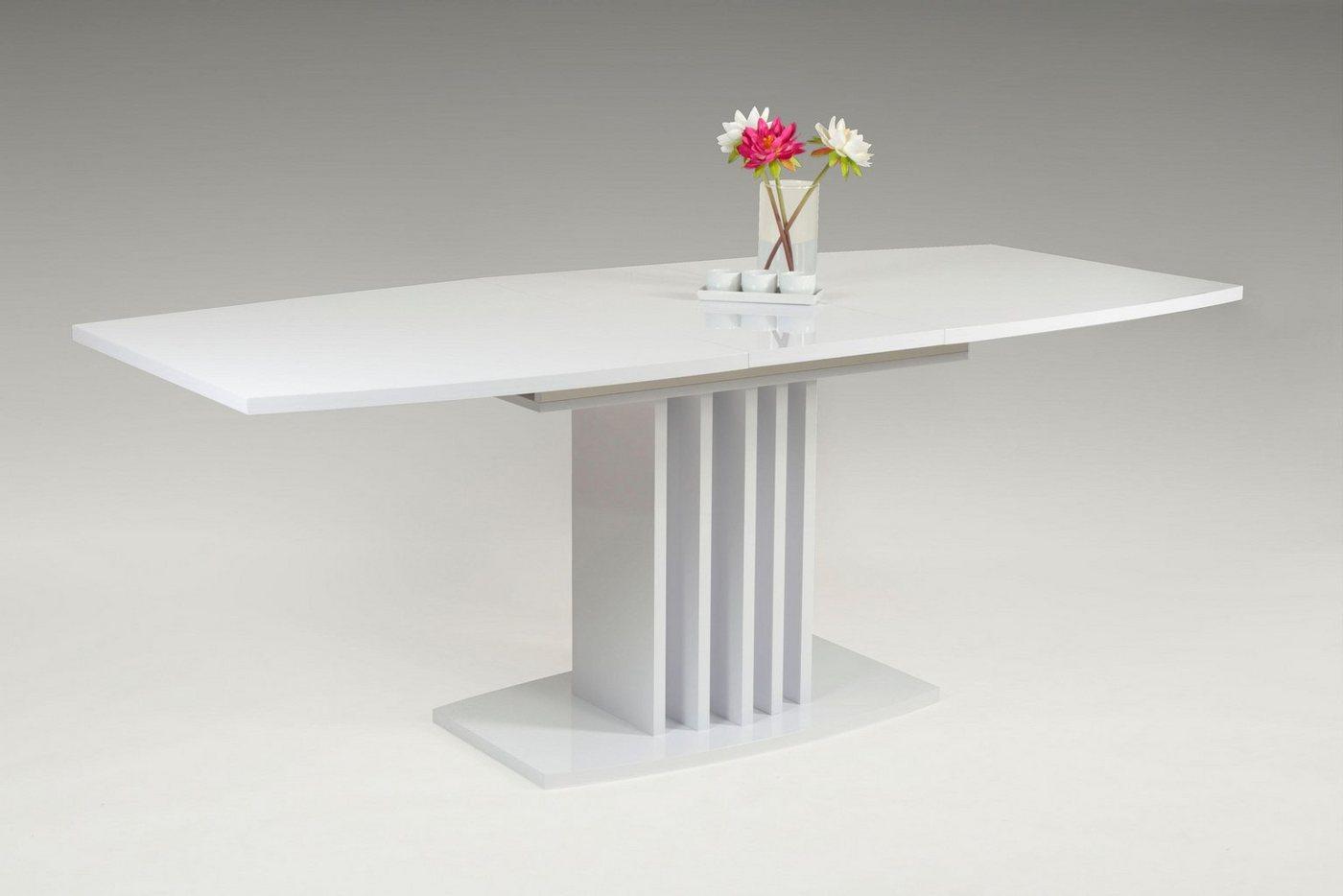 Eettafel op zuil, breedte 160 cm