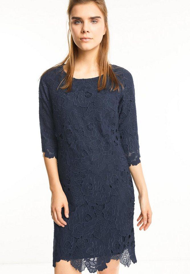 Street One kanten jurk Oralie blauw