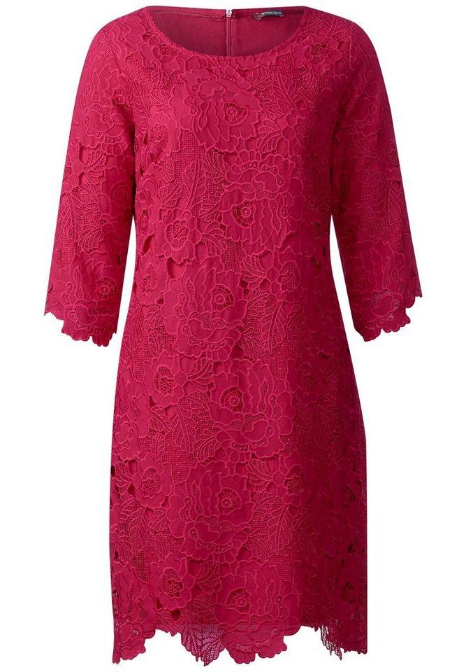 Street One kanten jurk Oralie roze
