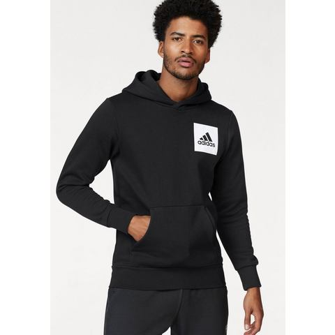 NU 15% KORTING: ADIDAS PERFORMANCE capuchonsweatshirt »ESSENTIALS CHEST LOGO PULLOVER HOOD FLEECE«