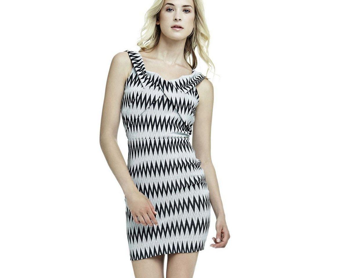 Guess jurk met print zwart