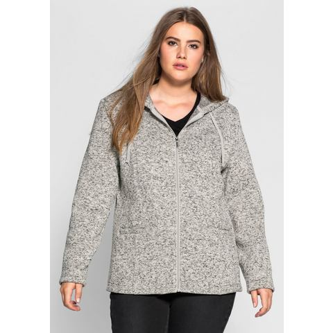 NU 15% KORTING: SHEEGO CASUAL tricot-fleecevest