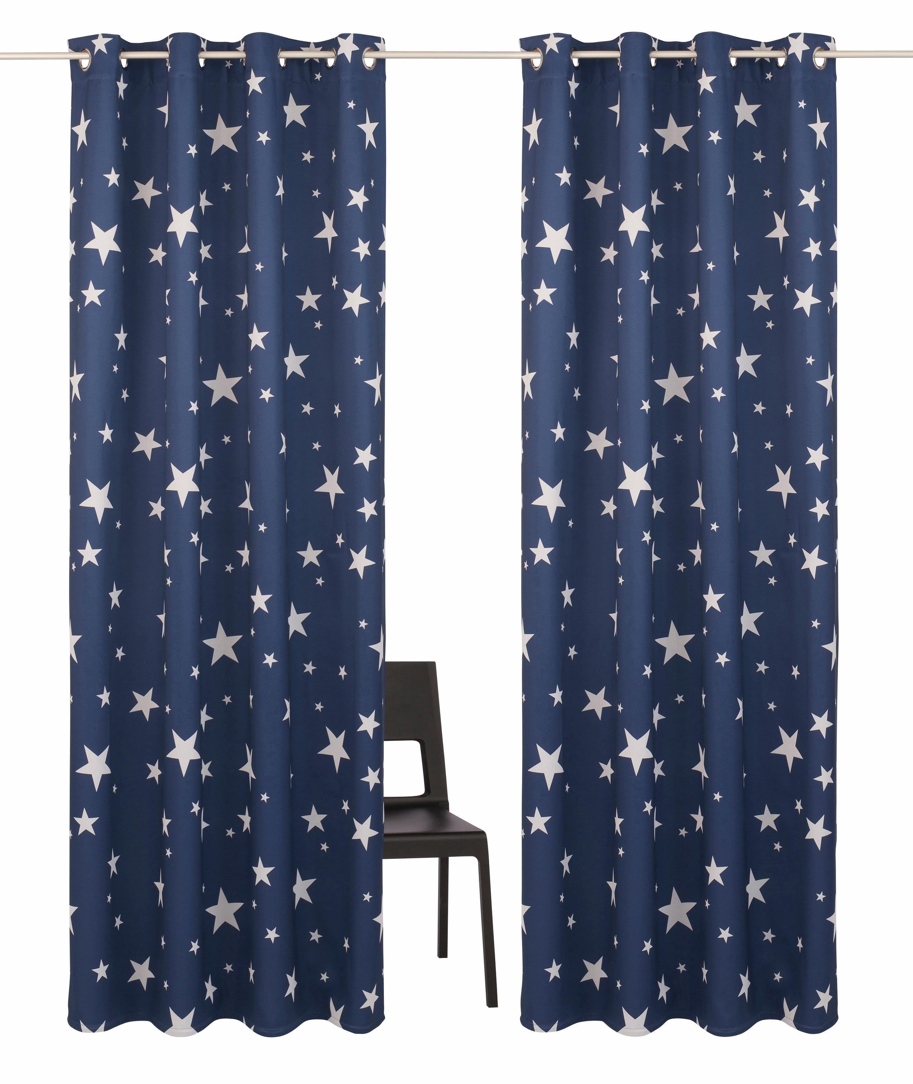 My Home Gordijn, »Solana-Star«, met zeilringen (set van 2) nu online kopen bij OTTO