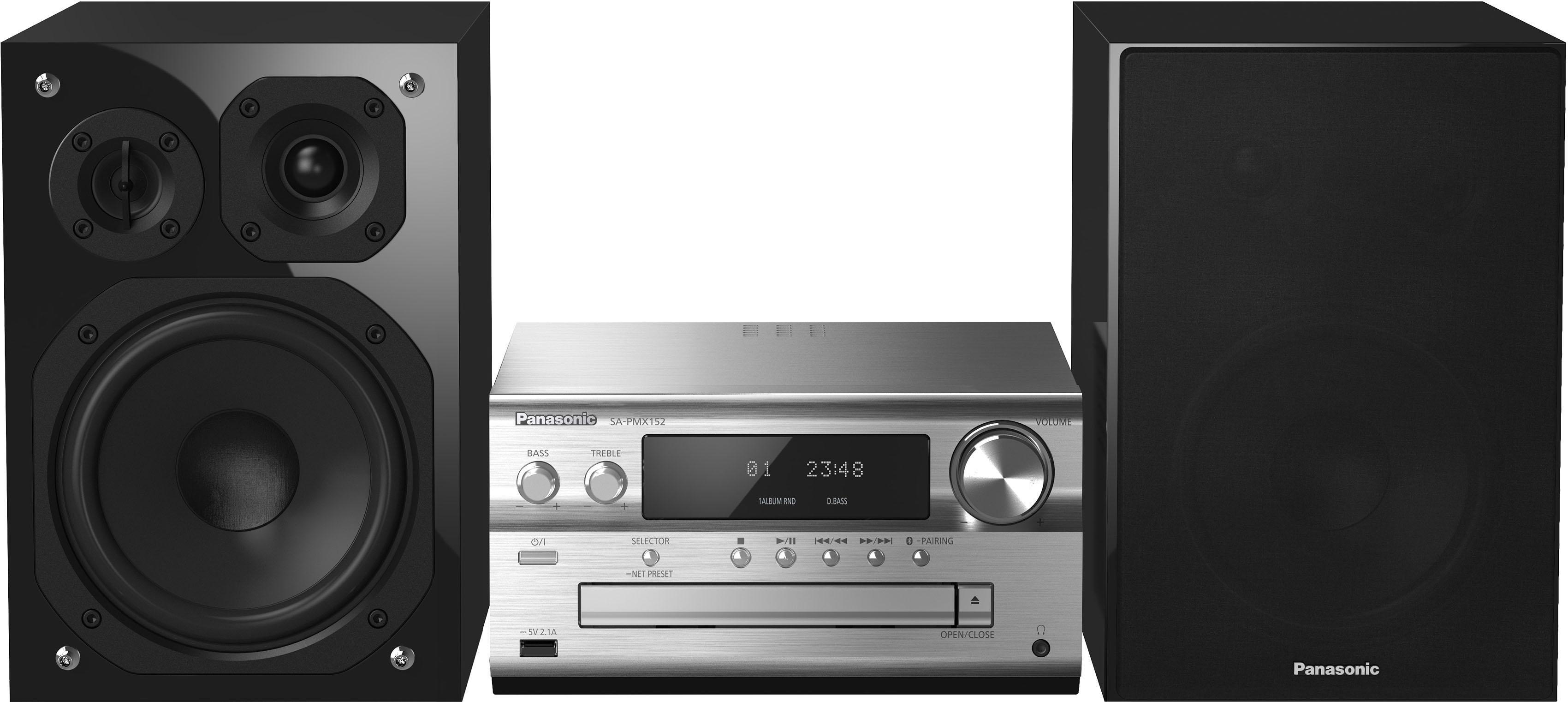 Panasonic SC-PMX152 ALL Connected hifi-systeem - verschillende betaalmethodes