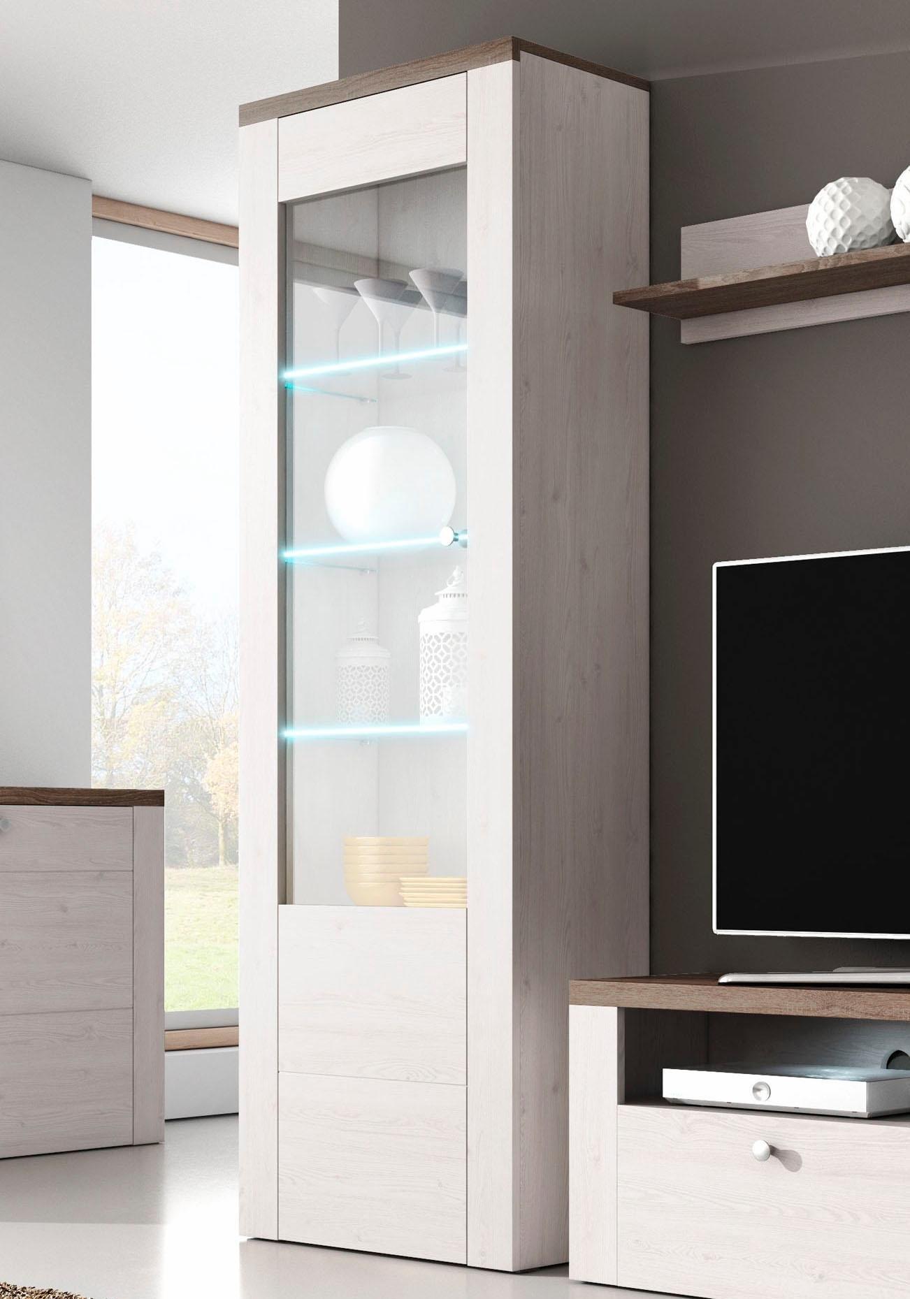 Helvetia Meble vitrinekast Larona Hoogte 205,6 cm in de webshop van OTTO kopen