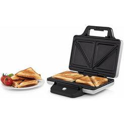 wmf sandwichmaker lono, 800 watt zilver