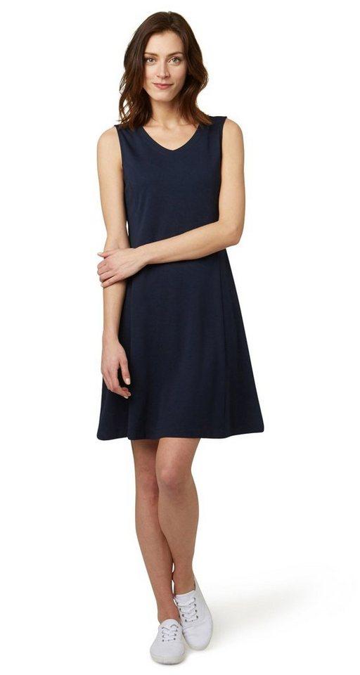 Tom Tailor jurk »Eenvoudige jerseyjurk« blauw