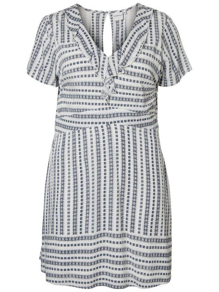 Junarose jurk wit
