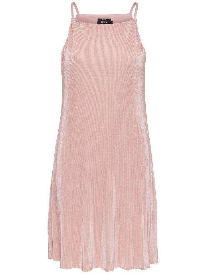 ONLY Mouwloze jurk paars