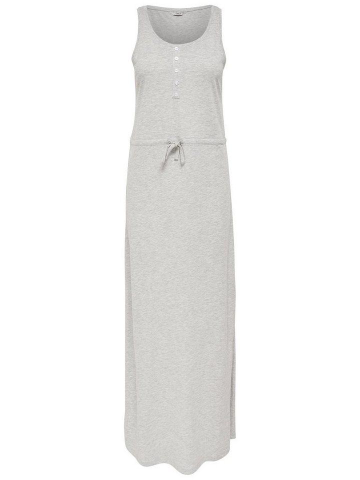ONLY Maxi jurk grijs