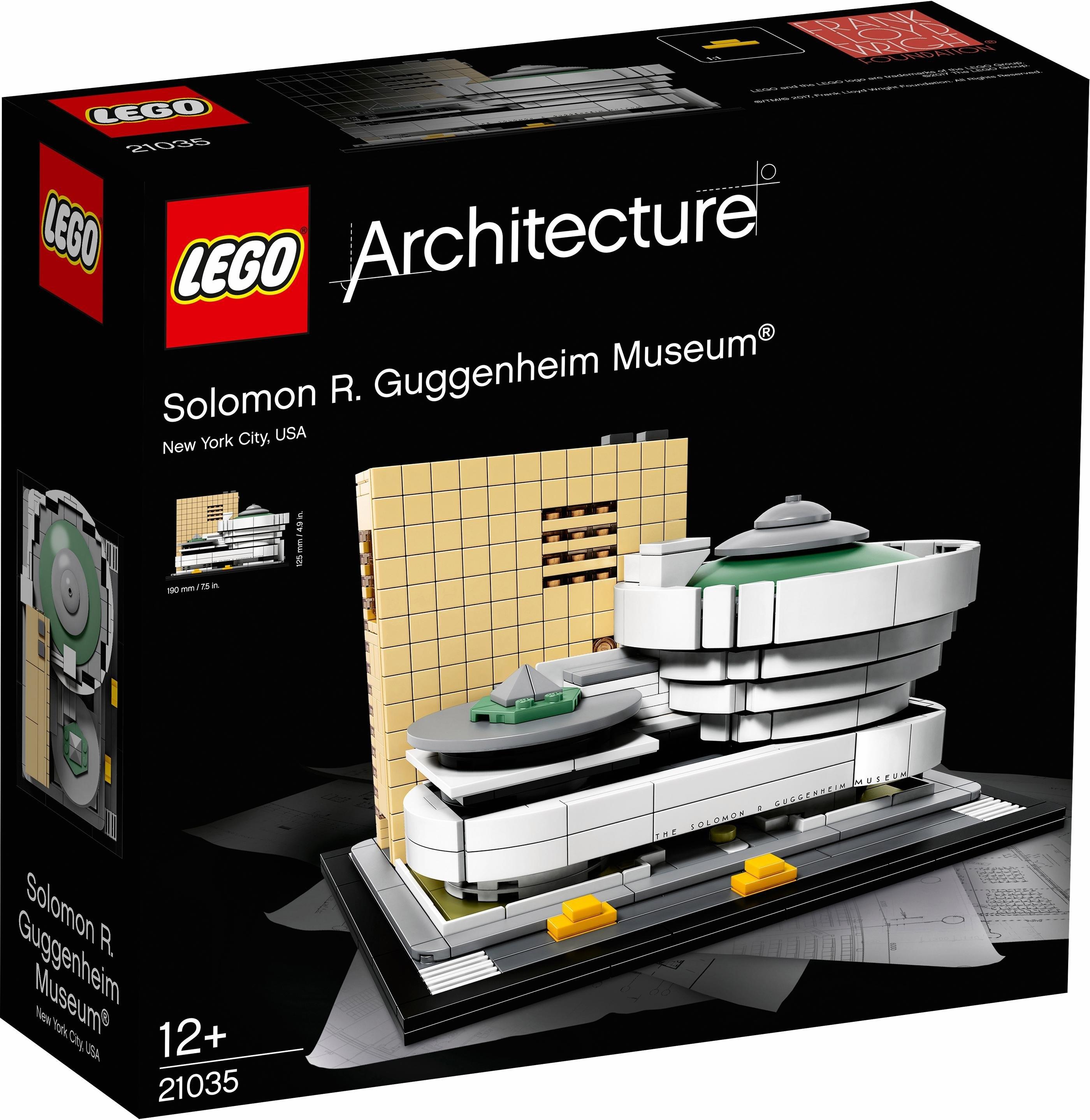 LEGO Solomon R. Guggenheim Museum® (21035), »LEGO® Architecture« veilig op otto.nl kopen