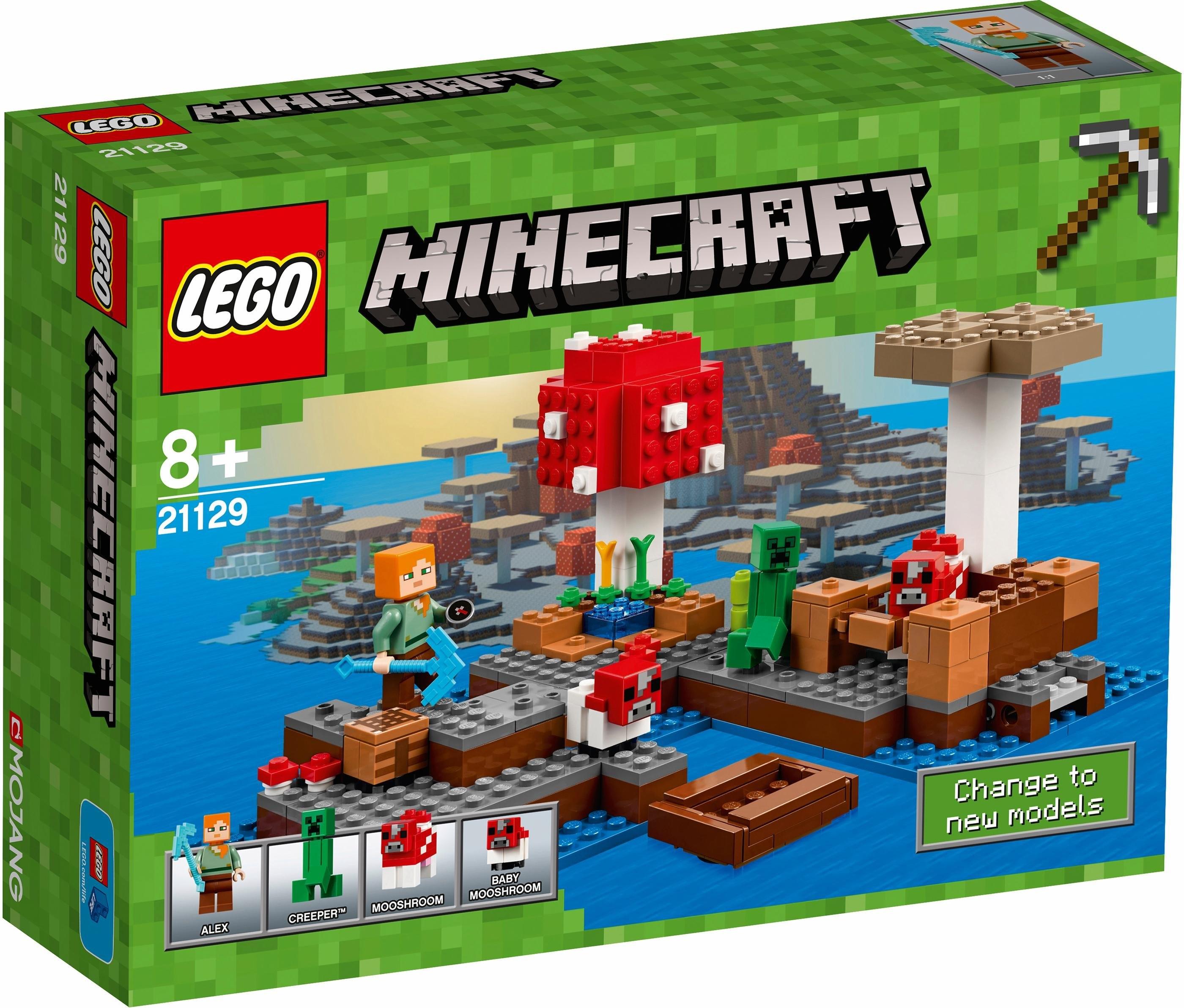 LEGO de Pilzinsel (21129), »LEGO® Minecraft™« bestellen: 14 dagen bedenktijd