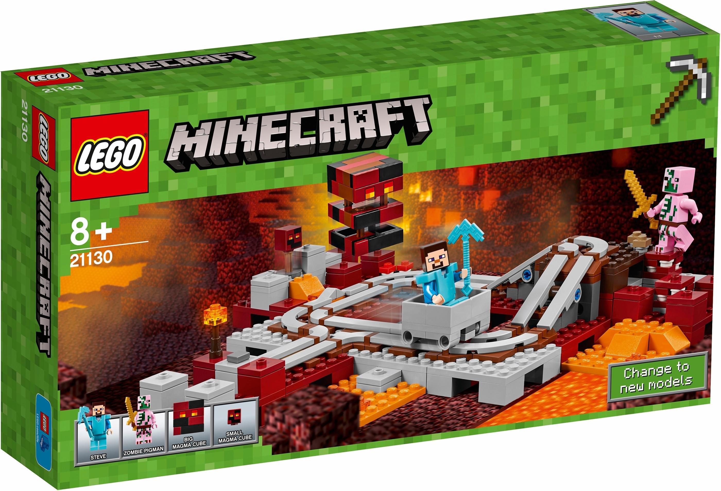 LEGO De Nether-spoorweg (21130), »LEGO® Minecraft™« online kopen op otto.nl