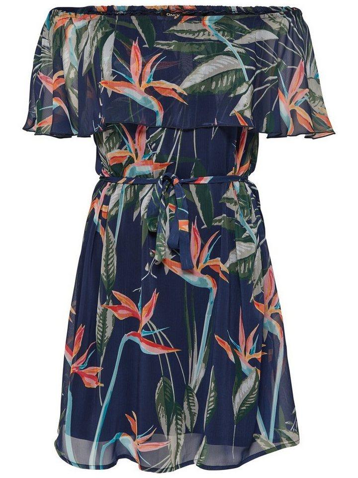 ONLY Korte jurk blauw