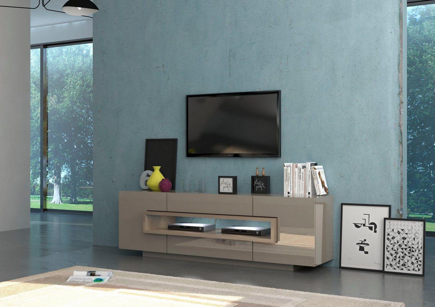 Tecnos TV-meubel Treviso, breedte 180 cm