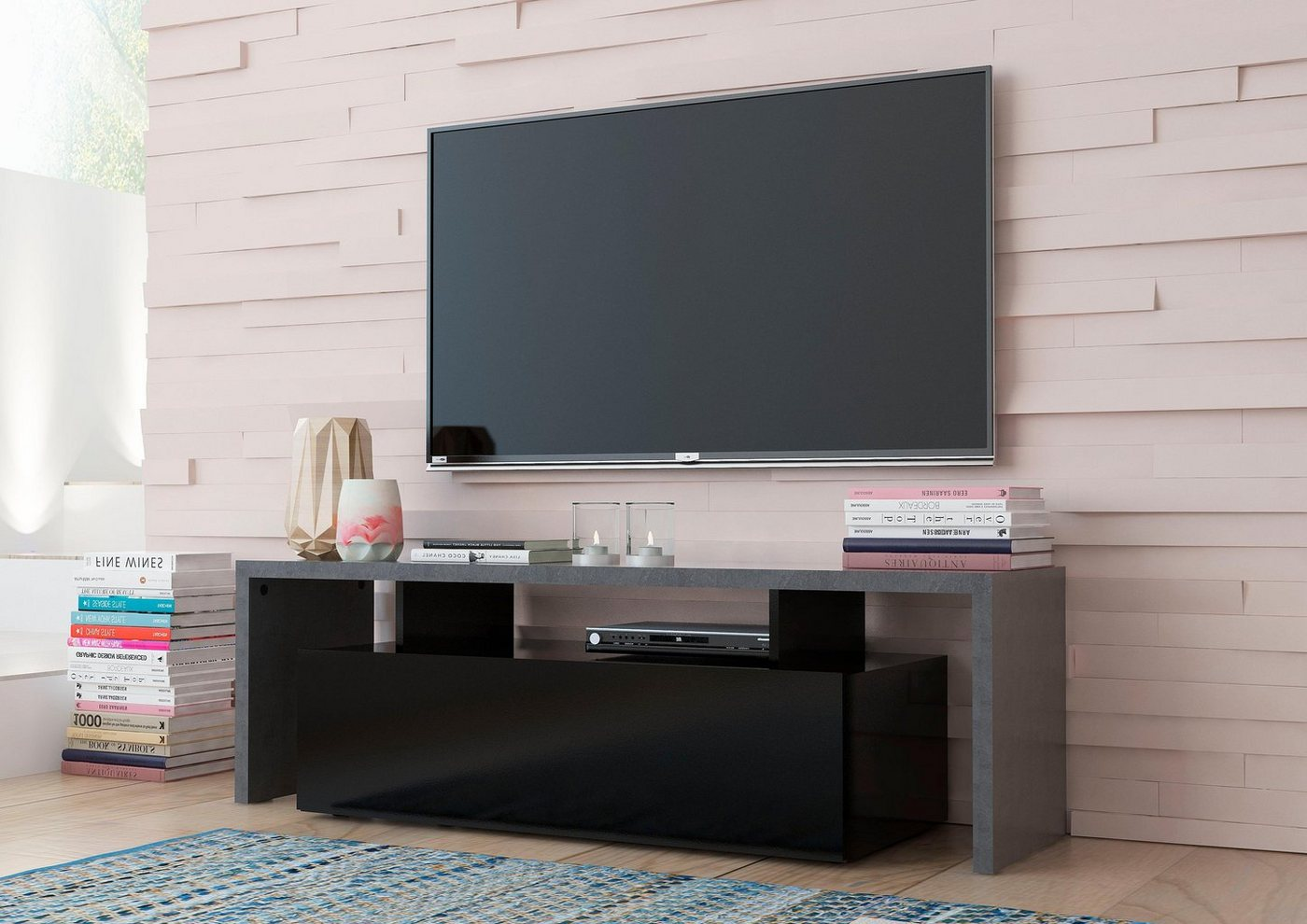 Tecnos TV-meubel Treviso, breedte 140 cm
