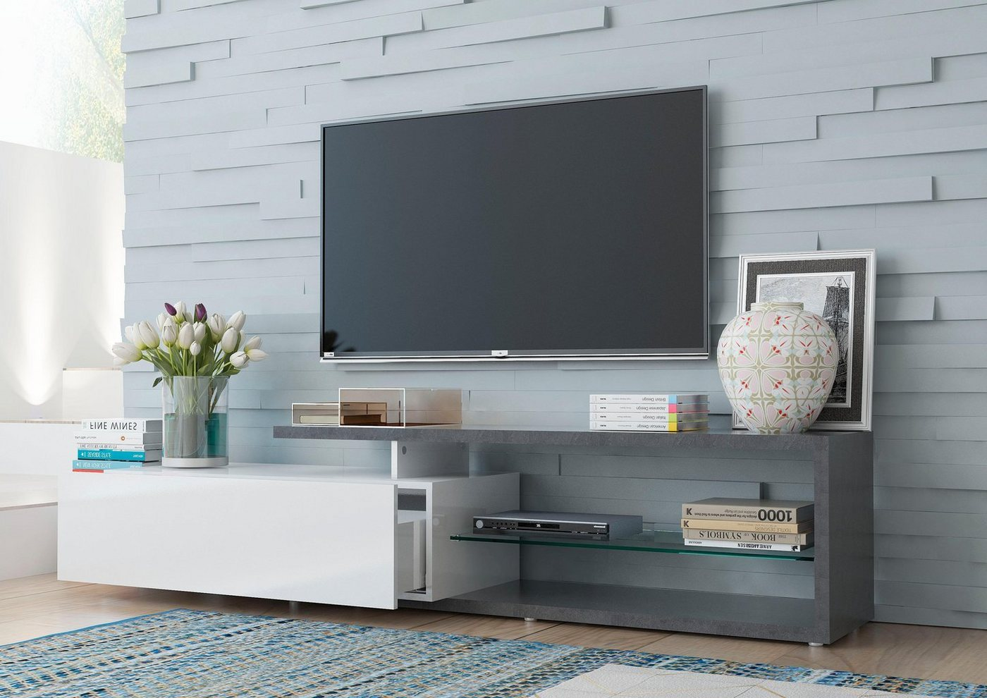 Tecnos TV-meubel Treviso, breedte 190 cm