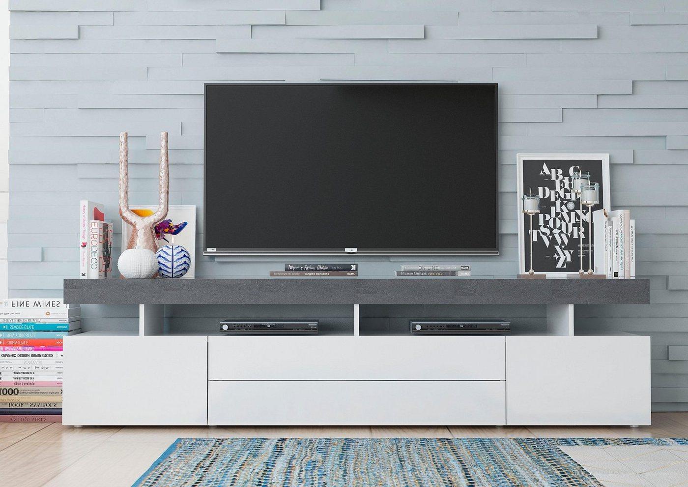 Tecnos TV-meubel Treviso, breedte 200 cm