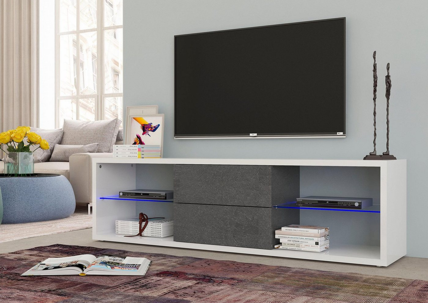 Tecnos TV-meubel Jerry, breedte 180 cm