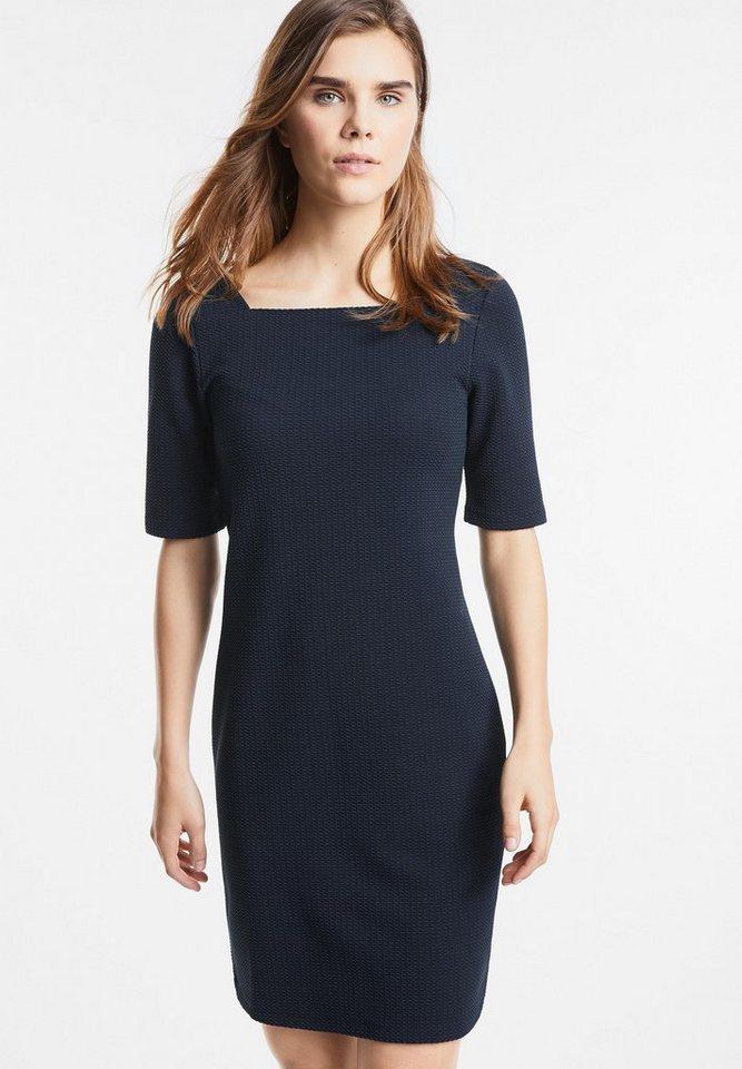 Street One jersey jurk Pollia blauw