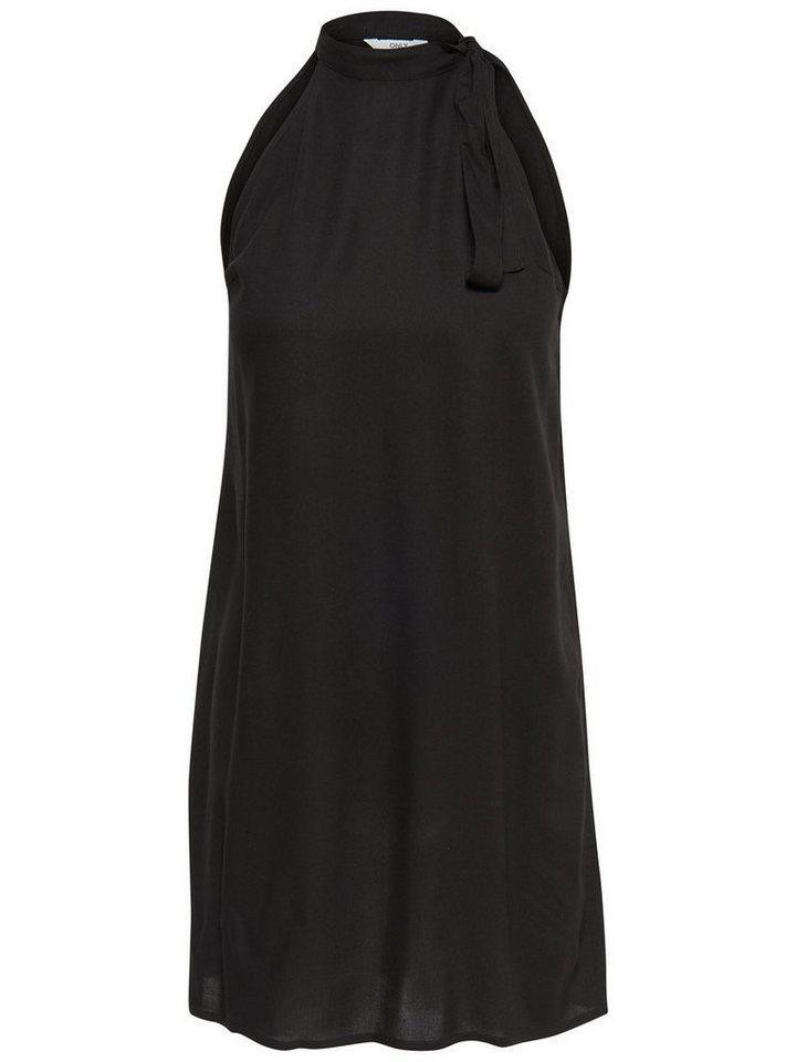 ONLY Effen Korte jurk zwart