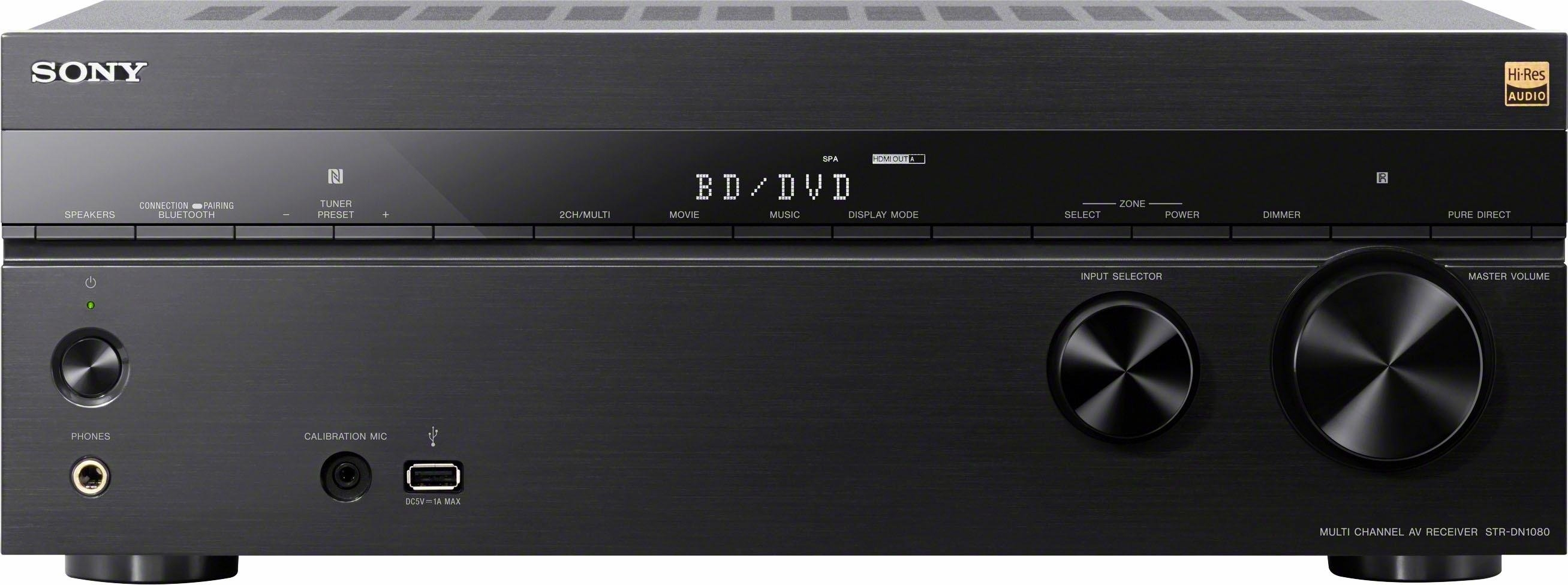 SONY STR-DN1080 7.2 AV-receiver (Hi-Res, 3D, Spotify Connect, AirPlay, WLAN, Bluetooth, NFC) bij OTTO online kopen