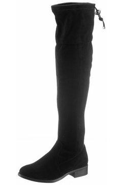 city walk overknee-laarzen zwart