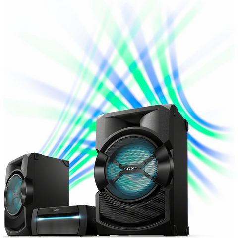 SONY SHAKE-X30 stereoset, Bluetooth, NFC, RDS, 1x USB