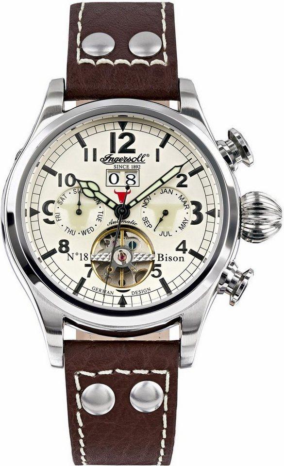 Ingersoll automatisch horloge »Bison NO. 18 IN4506CH«