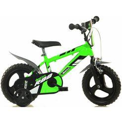 dino mountainbike voor kinderen, 12 inch, 1 versnelling groen