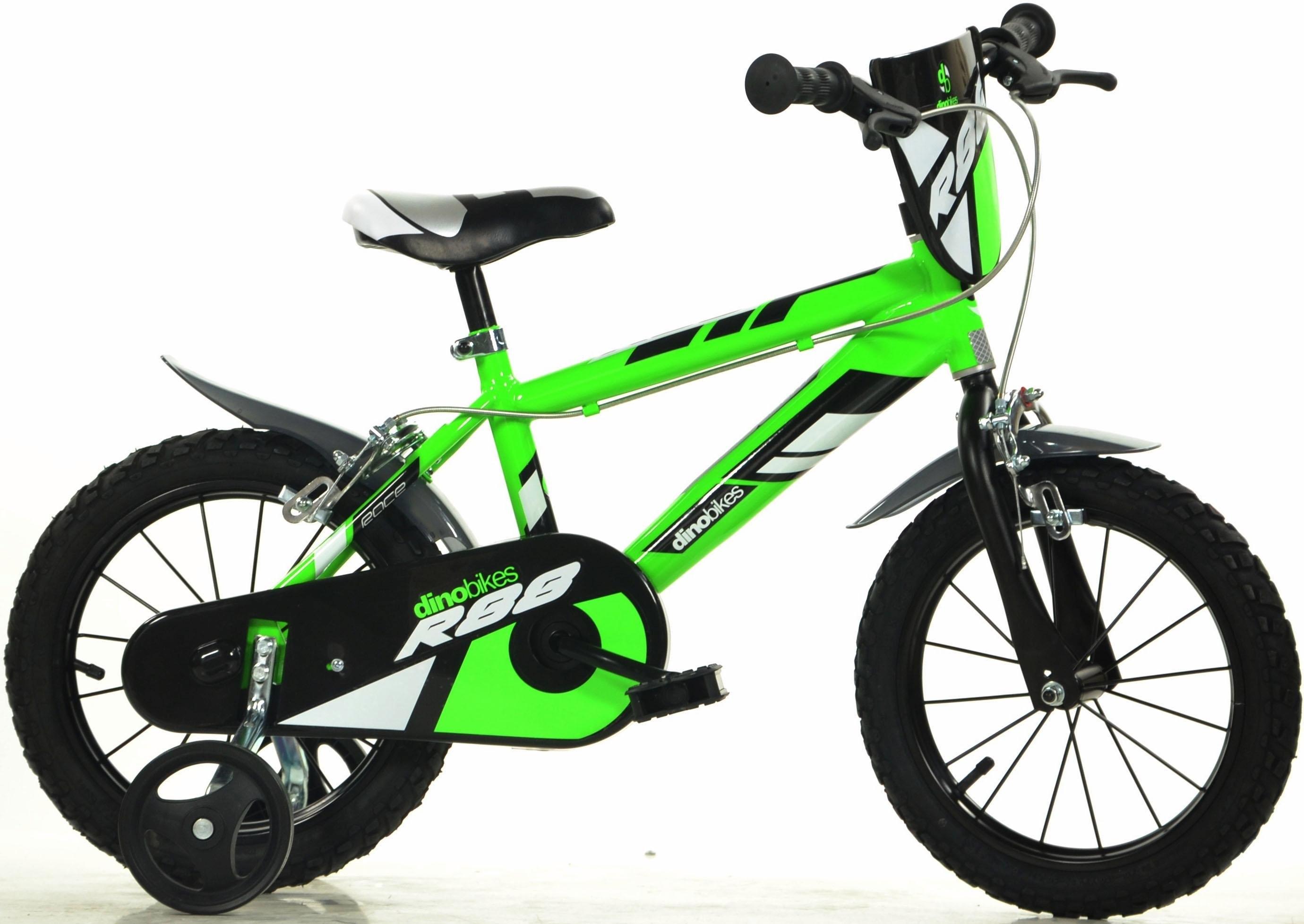 Dino mountainbike voor kinderen, 14 & 16 inch, 1 versnelling bestellen: 30 dagen bedenktijd