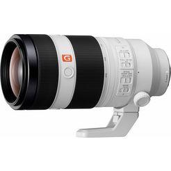 sony g-master fe 100-400mm f4,5-5,6 gm oss telezoomobjectief wit