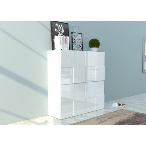 INOSIGN highboard in 3D-look, breedte 120 cm