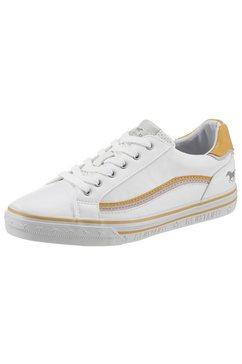 mustang shoes sneakers met accenten in contrastkleur wit