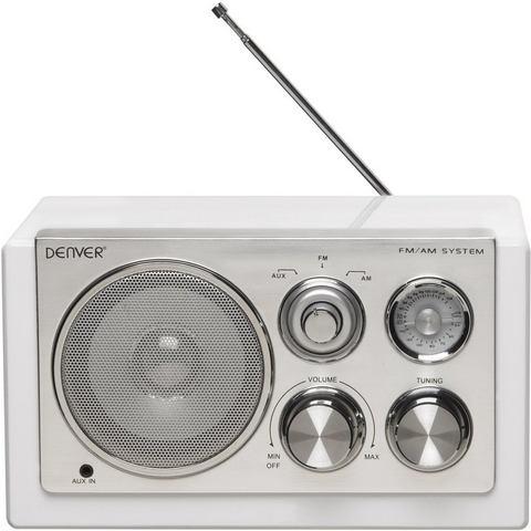 Denver TR-61 Tafelradio FM, Middengolf Wit
