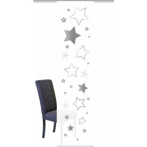 Paneelgordijn, HOME WOHNIDEEN, »STARS«, met klittenband (per stuk met accessoires)