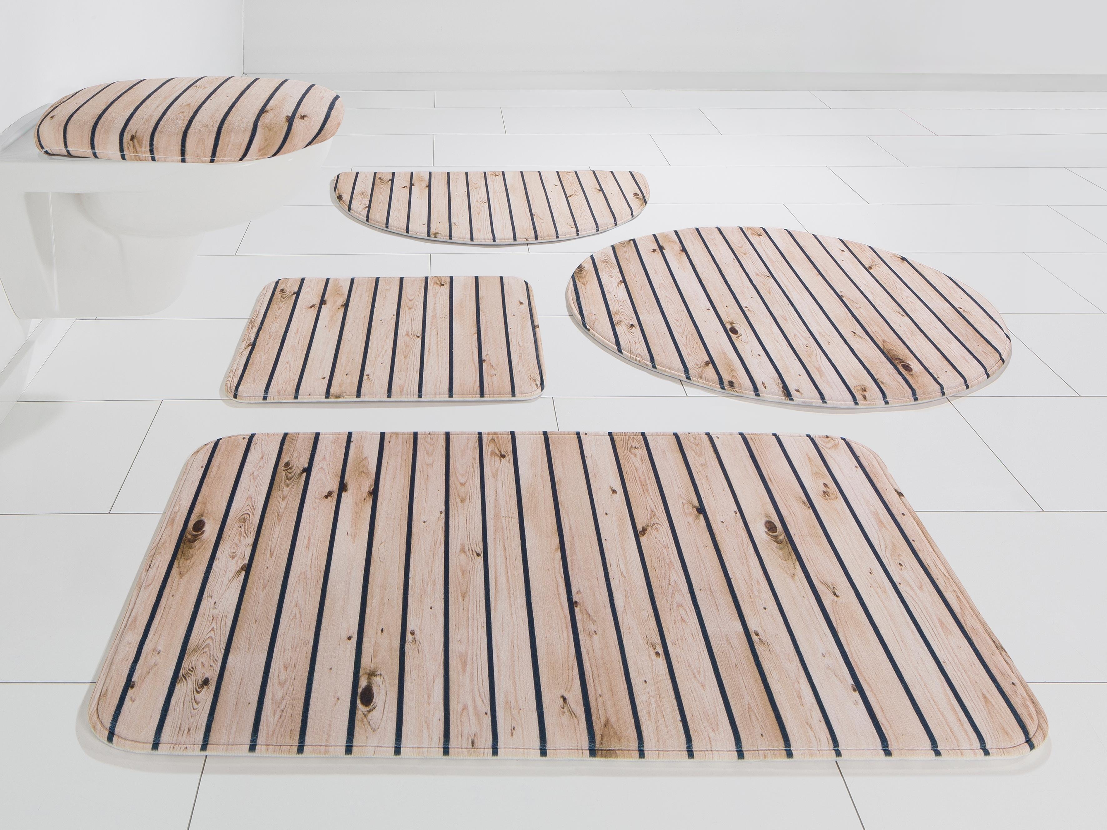 my home Badmat »Hout-look«,Selection, hoogte 14 mm, met antislip-coating bij OTTO online kopen