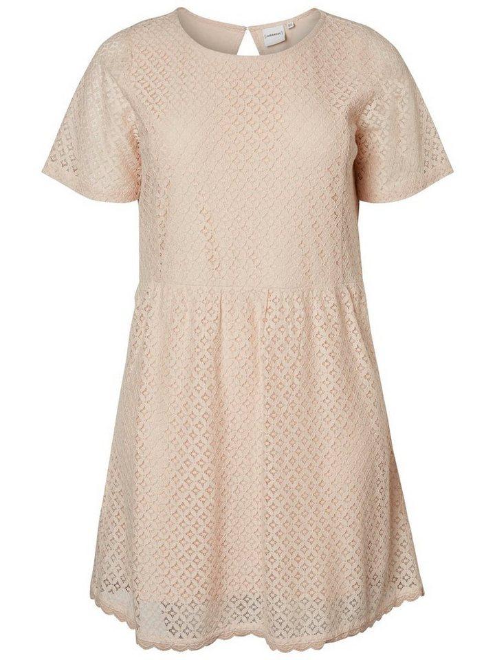 Junarose Boven de knie jurk roze