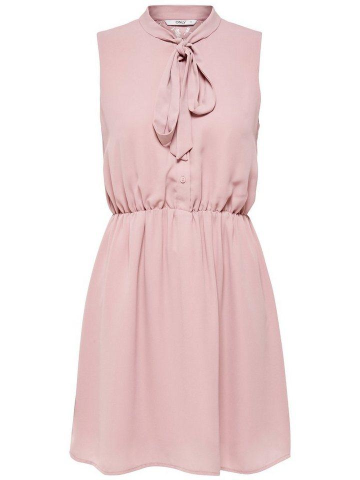 ONLY Gedetailleerde Mouwloze jurk paars
