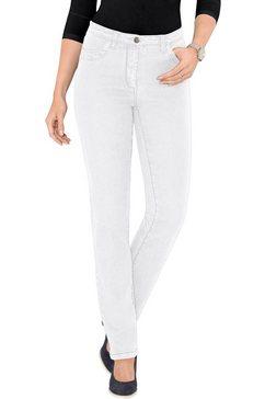 classic basics jeans in stretchkwaliteit wit