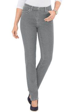 classic basics jeans in stretchkwaliteit grijs