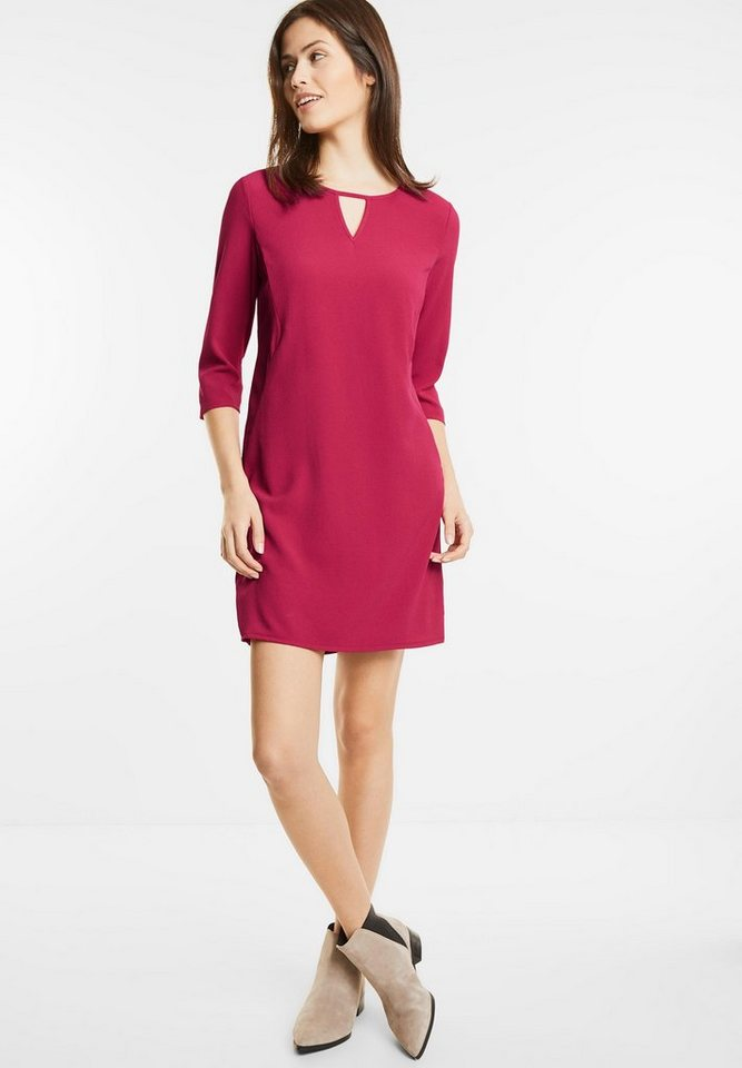 Street One jurk met splitten Pina roze