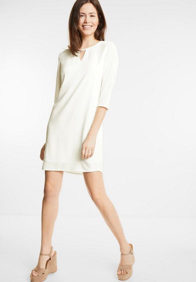 Street One jurk met splitten Pina wit