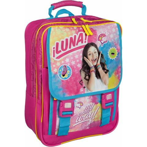 Undercover schoolrugzak groot, 'Disney Soy Luna'