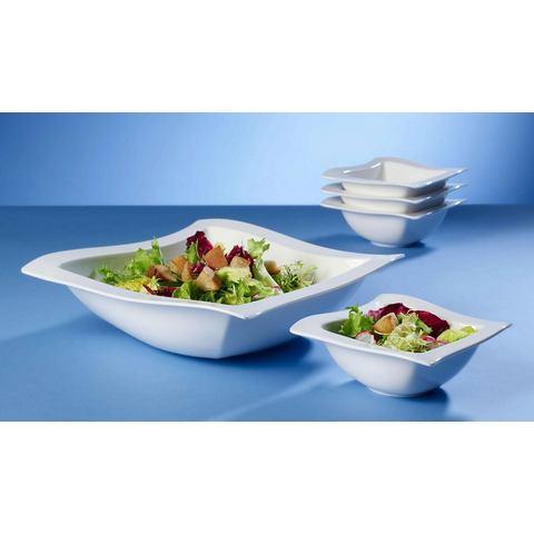 VILLEROY & BOCH saladeset, porselein, 5-delig, »NewWave«