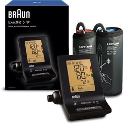 braun bovenarm-bloeddrukmeter exactfit™ 5 bp6200 zwart