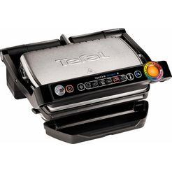 tefal contactgrill gc730d optigrill bluetooth zwart