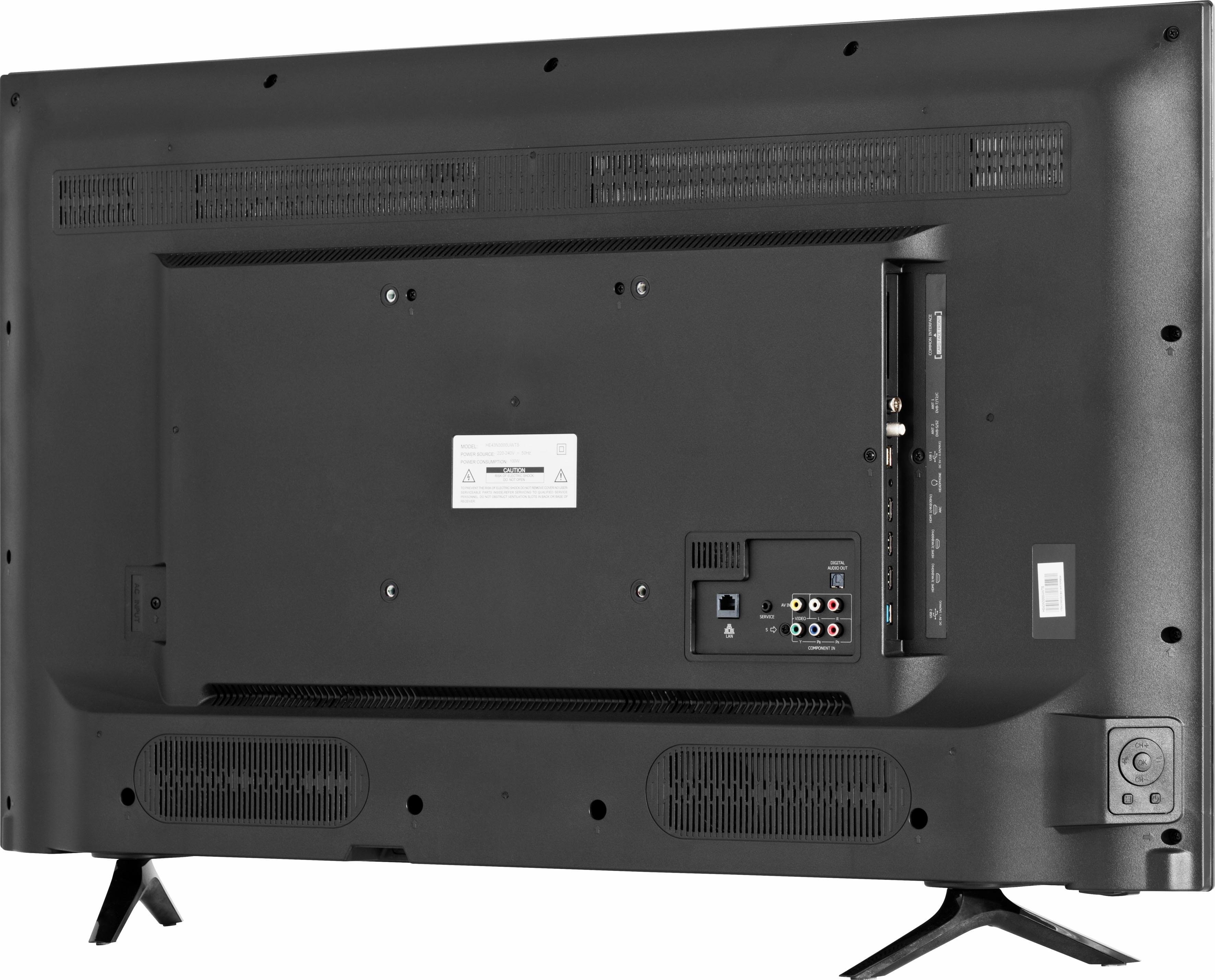 hisense h55nec5205 led tv 138 cm 55 inch uhd 4k smart tv online bestellen otto. Black Bedroom Furniture Sets. Home Design Ideas